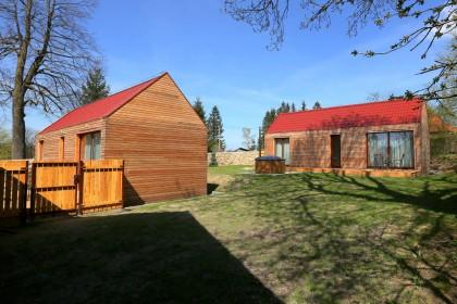 Design 12 x 4,2m - zakázka sedlová střecha