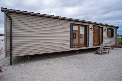 Lavaro House B Nr.130  - siding glina, linea