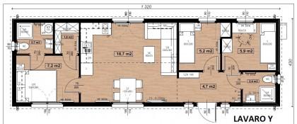 Lavaro House Y Nr.506 exkluzivně velký 57m2 NOVINKA roku 2020