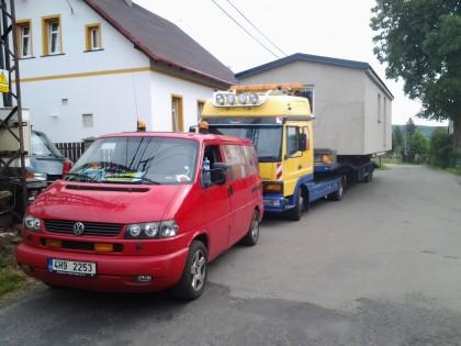 Steel Alfa - Liberec s fasádou
